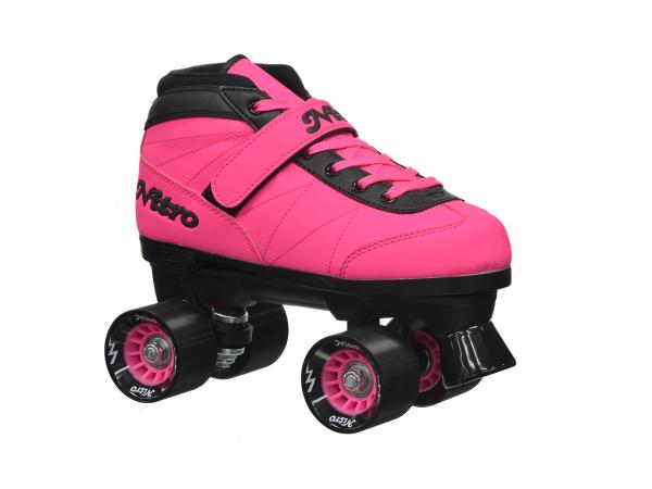 epic nitro turbo pink roller skate