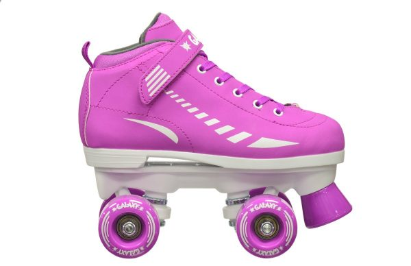 epic galaxy elite purple quad roller skate