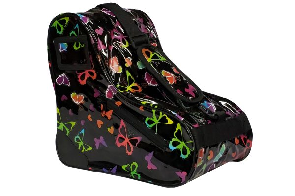 epic limited edition skate bag black butterfly