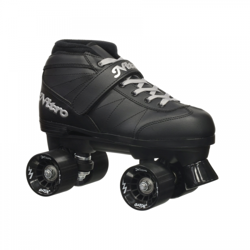 epic black super nitro roller skate