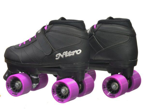 epic purple nitro roller skate